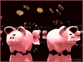 Piggy Bank Lottery by Zethara