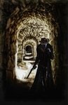 Drow gunslinger by DMantz
