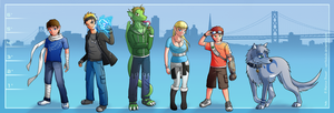 The Challengers by Spritedude