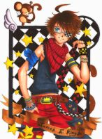 ::Monkey-verse Cards:: James by shiorimaster