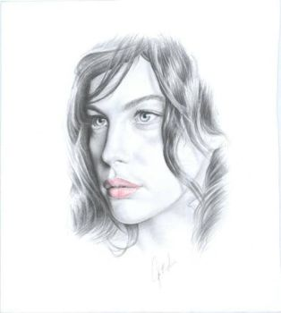 liv tyler by johnnydraws