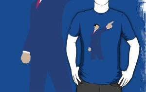 iPhoenix Wright T-Shirt by drg