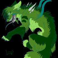 .:Louie's True Form:. by LadyUndead