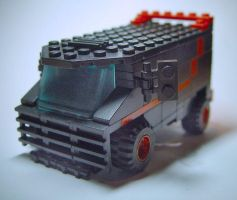 Lego A-team van by nov1design