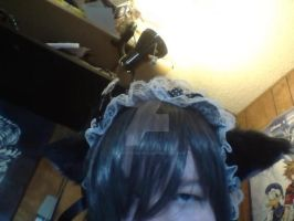 My new Ciel wig. by Jo-Strife-Ish-Evil