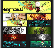 Tag Wall 2 by xKaref