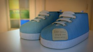 Baby shoes, brand new, never worn. by jackdarton
