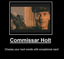 Commissar Holt by Juskan