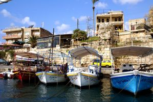 Byblos Harbour 2, Lebanon by gors