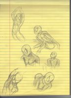 spiderman doodles by SIVM