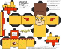 DC SH 8: Kid Flash II Cubee by TheFlyingDachshund