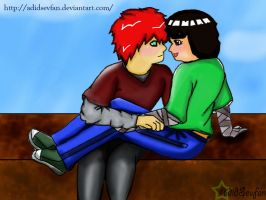 with you I am happy by adidsevfan