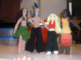 Group of dolls by onlyRa