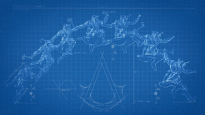 Assassins Creed 3 Blueprint Wallpaper by PabloDoogenfloggen