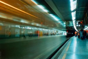 Subway ghosts by BorjaPascual