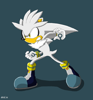 Awesome Silver the Hedgehog by Domestic-hedgehog