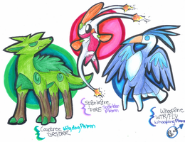 2nd Stage Male Starters by Yugilatichar
