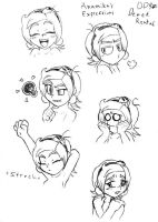 Anamika's Expressions by DinyDino9