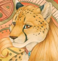 Golden Cheetah by Korrok