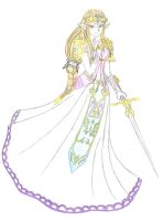 Princess Zelda by twiligal364