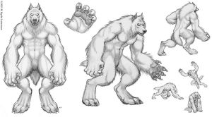 Werewolf Design Page by kyoht