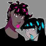 Pop Pastel Punk by AnneHairball