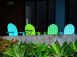 Adirondack Chairs by RicksCafe