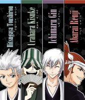 Bleach bookmarks by HTKChidori