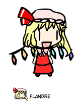 Flandre Scarlet Version Walfa by locuaz15143