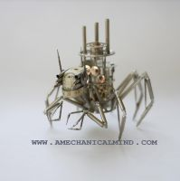 Watch Parts Creature Arachnius Rex by AMechanicalMind