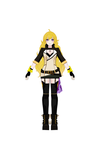 RWBY - Yang Xiao Long Alt. Outfit Turnaround by jkphantom9