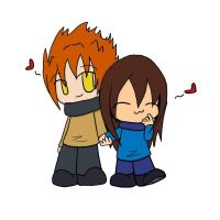 .:Holding Hands:. by 221bee