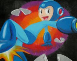 MegaMan by Flash321