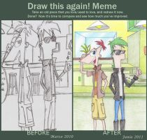 Meme- Draw this again PnF by Angelus19