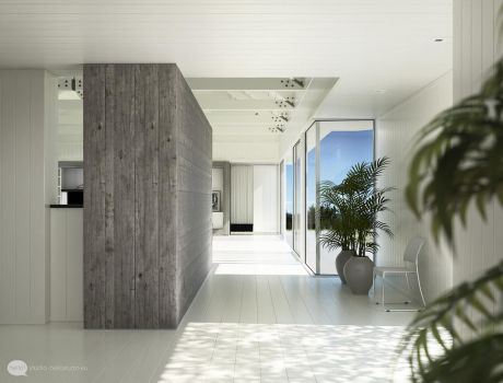 Evermotion white room by zipper