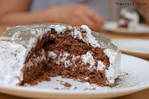 Black sesame coconut cake 2 by patchow