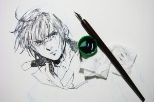 quill try wip by ryuuen