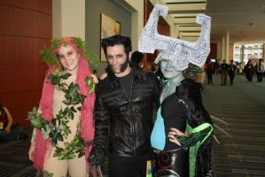 Great Fairy, Wolverine, Midna by luretan
