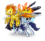 Strike Eagle and Aveary by Wolframclaws