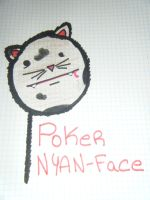 Poker NYAN-face by Nuui2