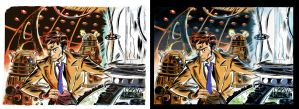 DR WHO pin-up - preferences? by danmcdaid