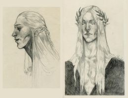 Elves (Sketchwork) by bonivich