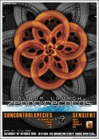 ZENON RECORDS A2 Poster by edit-dsn