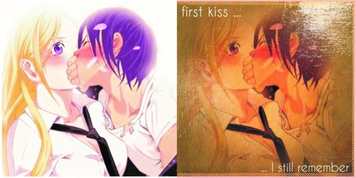 First Kiss by defmakaveli