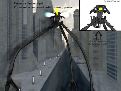 MMD Newcomer - War of The Worlds 2005 Tripod +DL+ by MMDCharizard