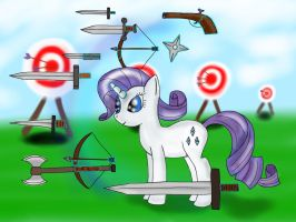 Rarity - Training Grounds by GromekTwist