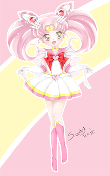 Sailor Chibi Moon by Scented-Tea