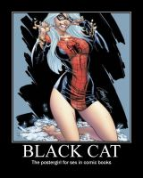 Black Cat Motivational by Magneto666666
