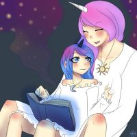 Story Time by water-panda-chan