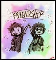 Adam and Sky - FRIENDSHIP by Ninja-Neko-Aru